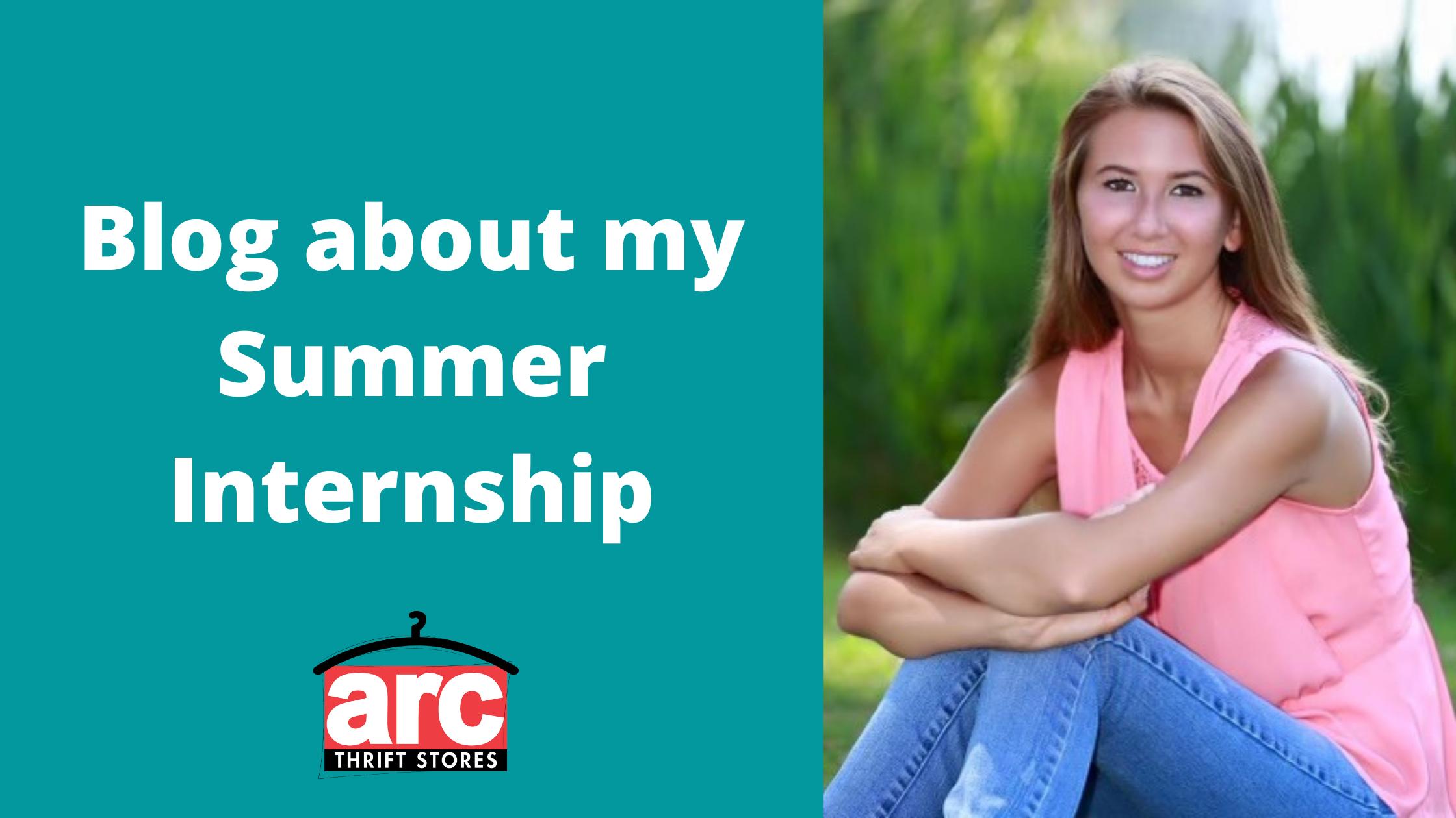 Blog about my Summer Internship