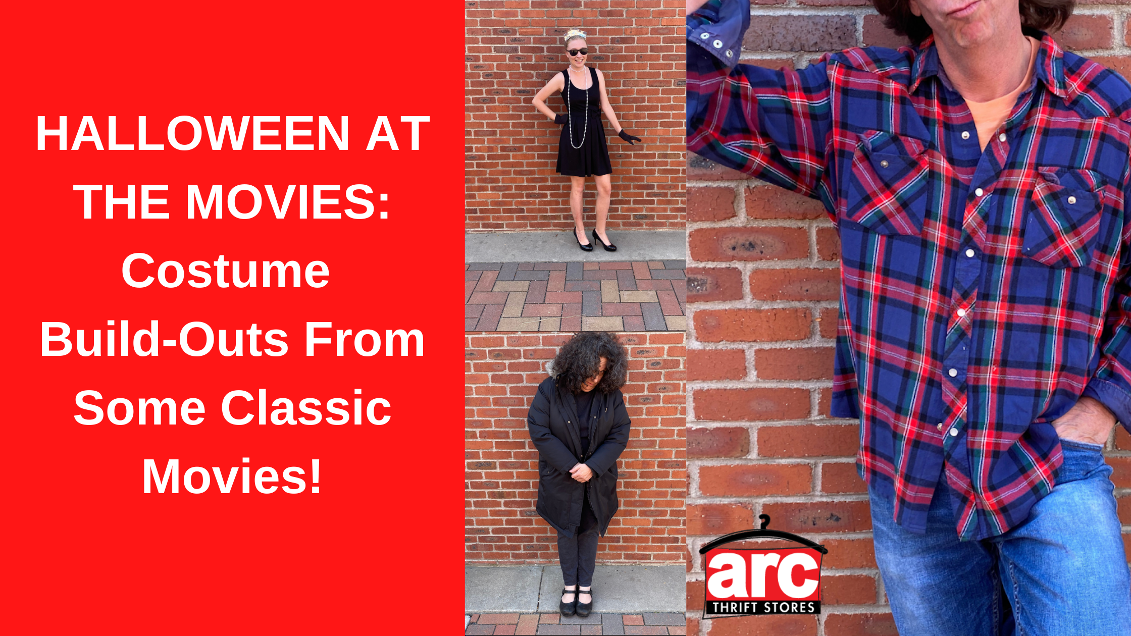 HALLOWEEN AT THE MOVIES: Costume Build-Outs From Some Classic Movies!
