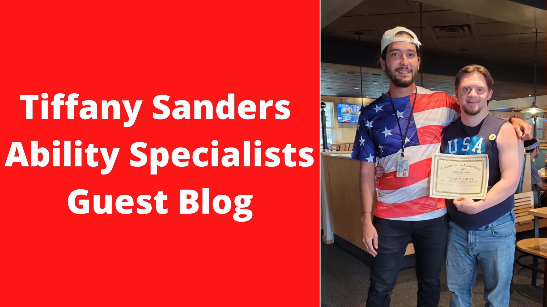 Tiffany Sanders Ability Specialists Guest Blog